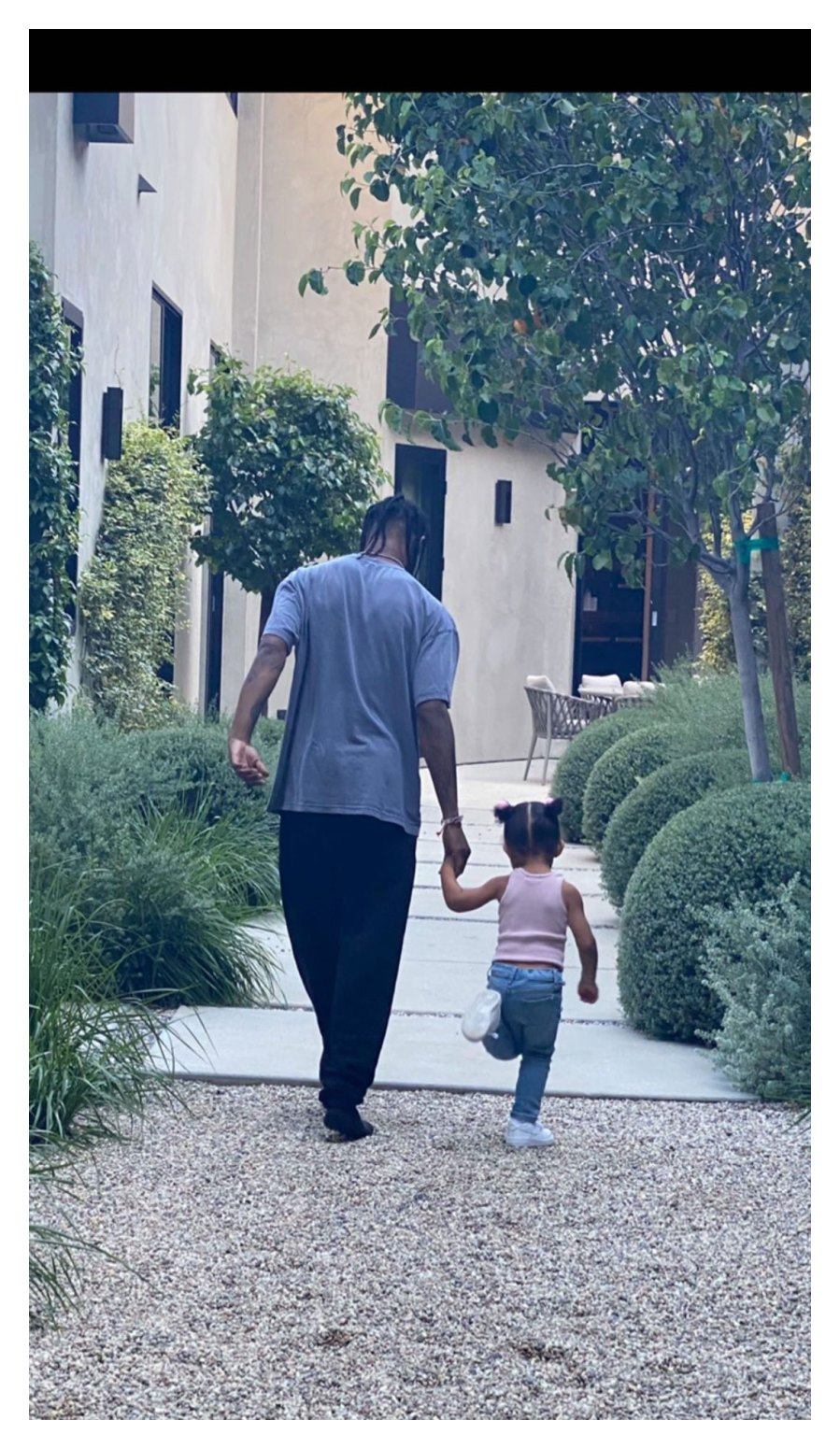 Inside Travis Scott Fathers Day Celebration With Kylie Jenner and Daughter Stormi Instagram