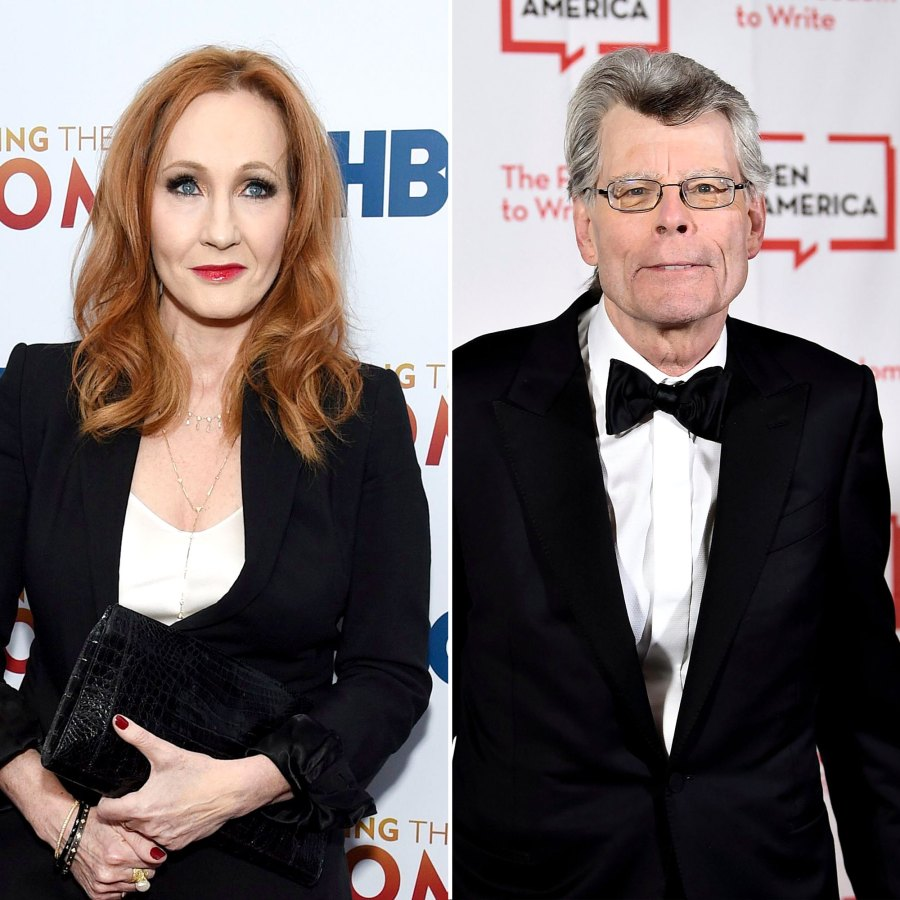 JK J.K. Rowling Deletes Tweet Raving About Stephen King After He Supports Trans Women