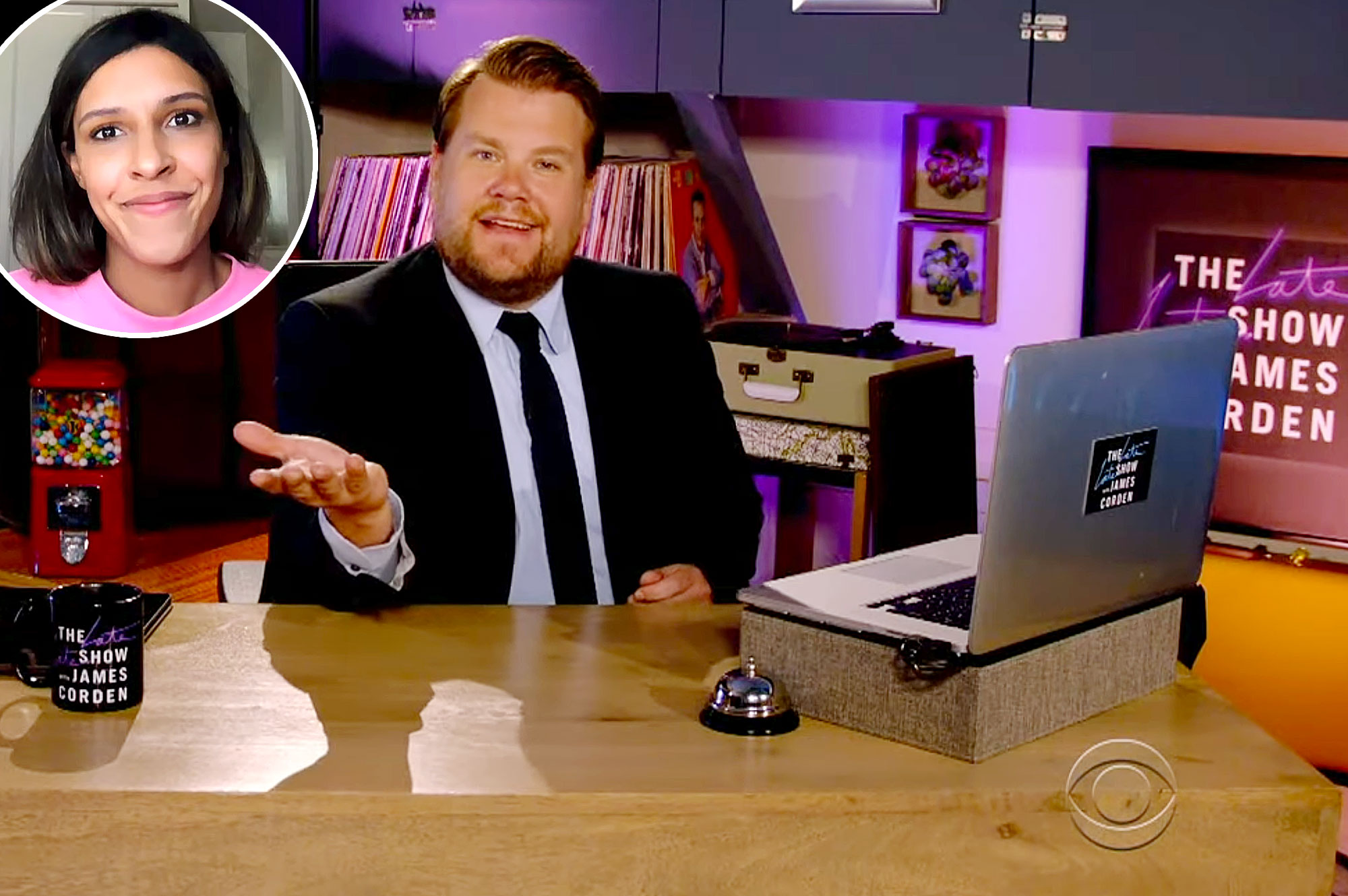 James Corden Late Late Show Staffer Gives Him a Lesson in White Privilege