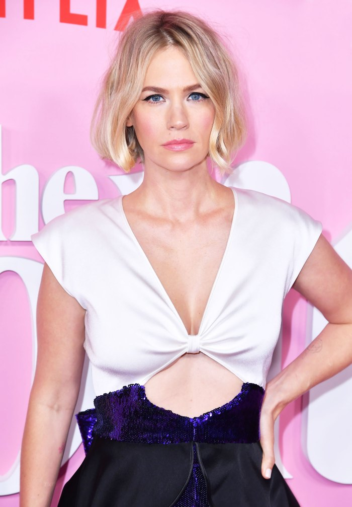 January Jones Shares Photo of Son, 8, Participating in Protests After 'Necessary Hard Conversations' About Racism