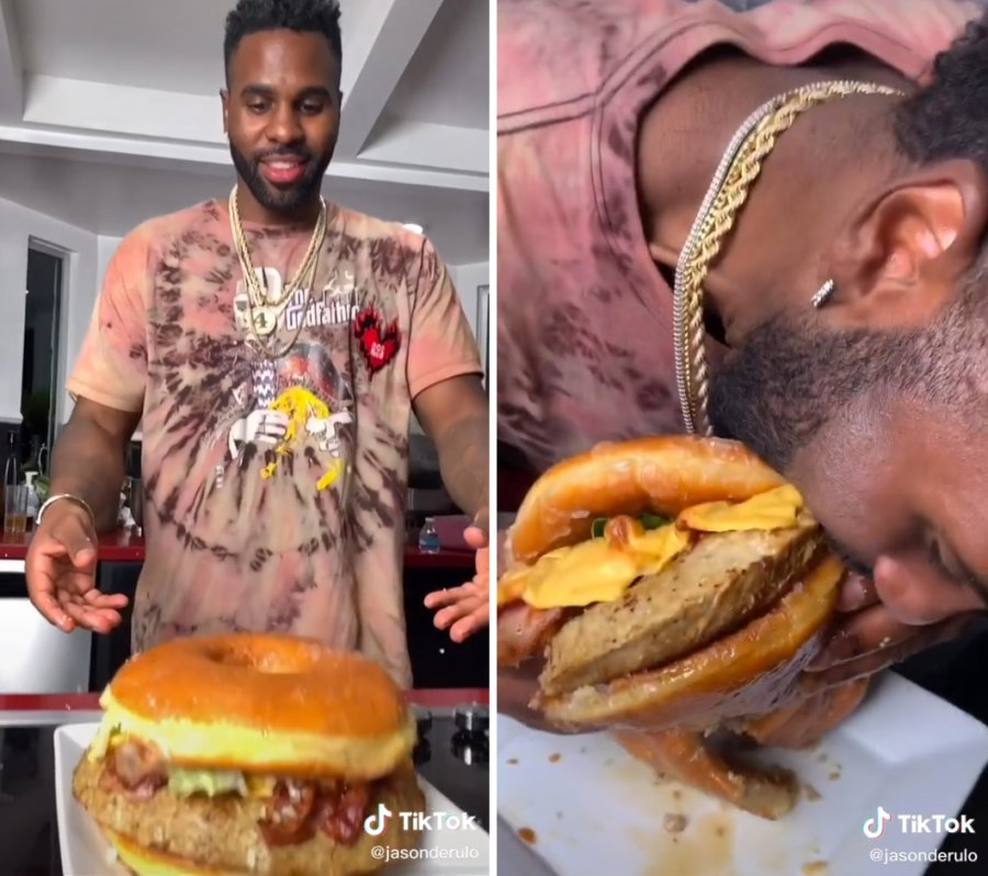 Jason Derulo The Doughnut Burger