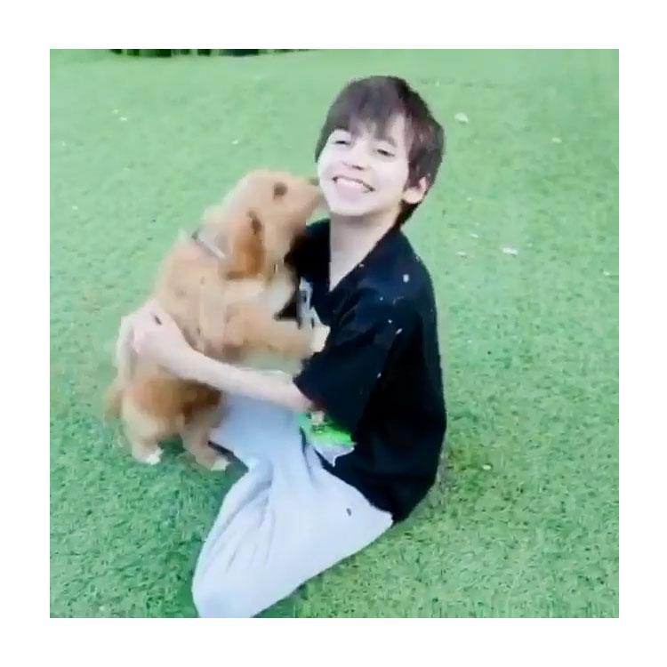 Jennifer Lopez Surprises Son Max With Cute New Puppy
