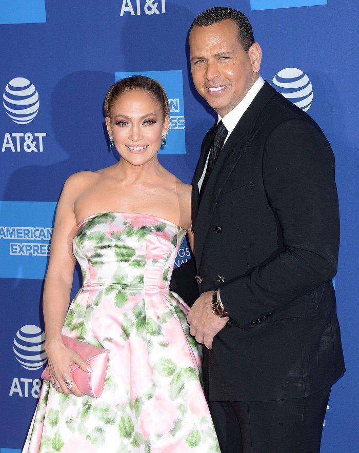 Jennifer Lopez and Alex Rodriguez Attend Black Lives Matter Protest