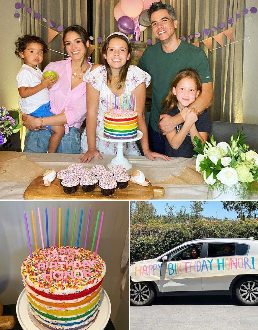 Jessica Alba and Cash Warren Celebrate Honors 12th Birthday in Quarantine