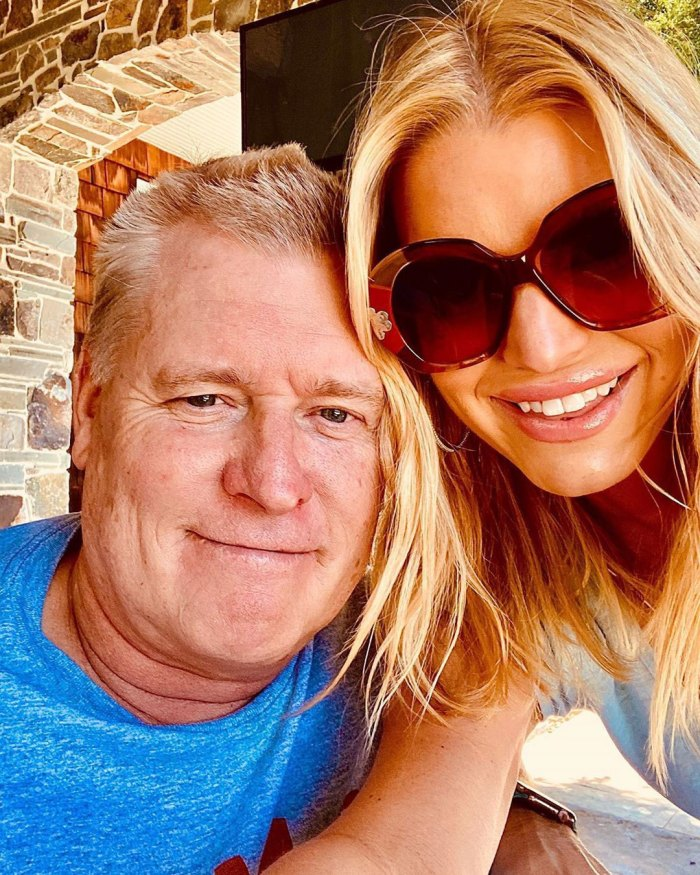 Jessica Simpson Thanks Dad Joe Simpson Fathers Day instagram