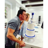 Jim Edmonds Girlfriend Kortnie Throws Him a 50th Birthday Party With His Kids