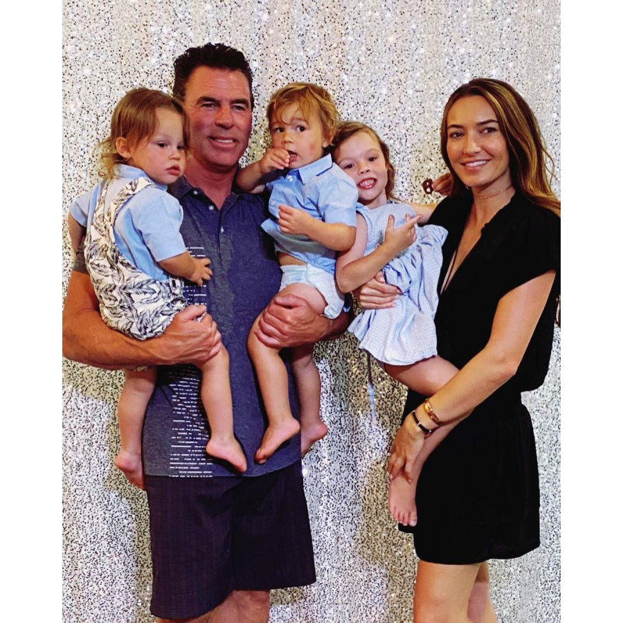 Jim Edmonds Girlfriend Kortnie Throws Him a 50th Birthday Party With His Kids