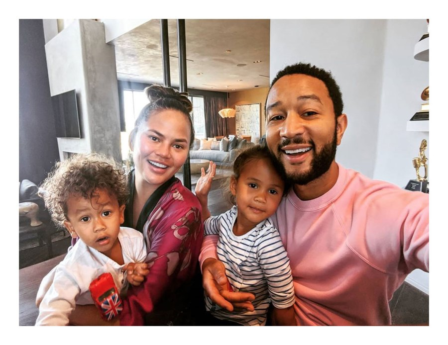 John Legend Kids Are Helping Chrissy Recover From Implant Removal