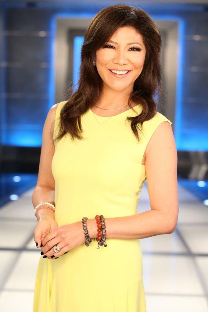 Julie Chen Big Brother Yellow Dress CBS