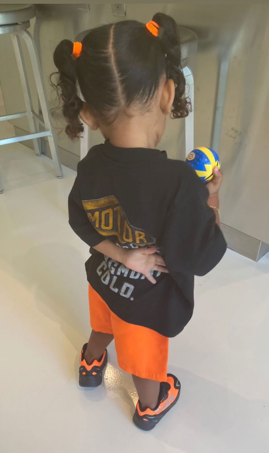 So Stylish! See Pics of Kim and Kanye's Daughter Chicago