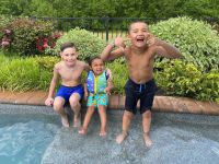 Kailyn Lowry Isaac Rivera, Lincoln Marroquin and Lux Lowry