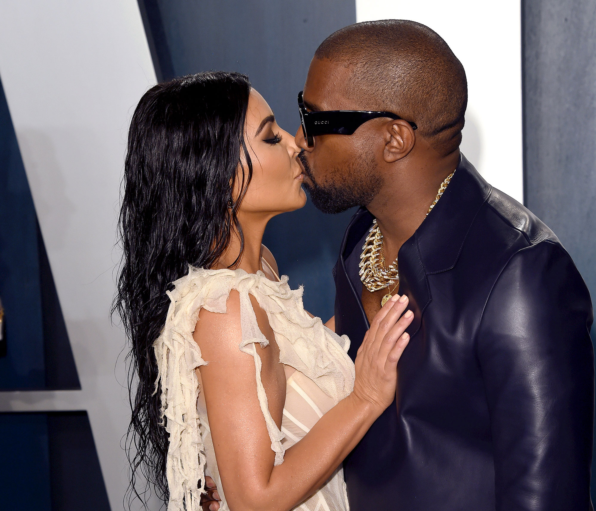Kanye West Proud of Kim Kardashian Becoming a Billionaire Kiss