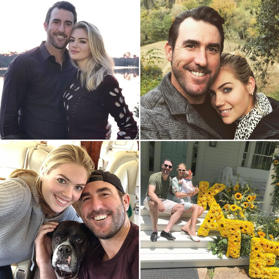 Kate Upton Justin Verlander Cutest Social Media Photos Over the Years