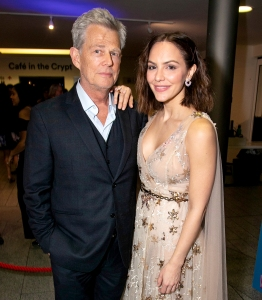 Katharine McPhee Jokes About Why She Married David Foster