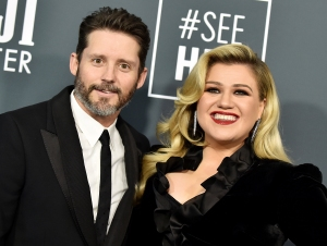 Kelly Clarkson Brandon Blackstock Were All Smiles at Last Public Appearance