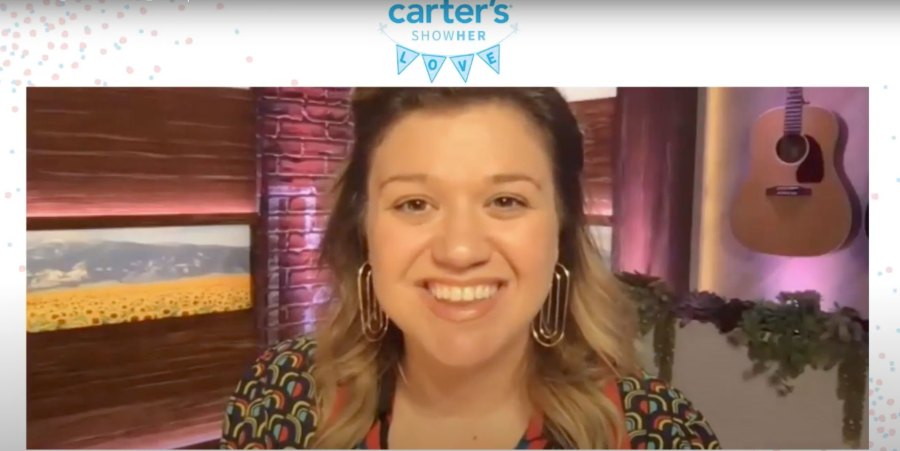Kelly Clarkson Being Mom Greatest Gift Carters ShowHER Love Virtual Baby Shower