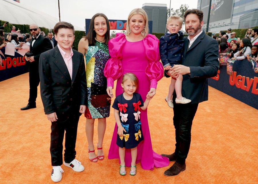 Kelly Clarkson and Brandon Blackstock to Divorce Kid debate