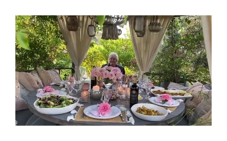 Ken Todd Lisa Vanderpump Instagram Celebrate Fathers Day Food