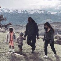 North West Saint West Kanye West and Kim Kardashian