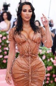 Kim Kardashian's Waist Looks Unbelievably Tiny in Met Gala Corset Replacement