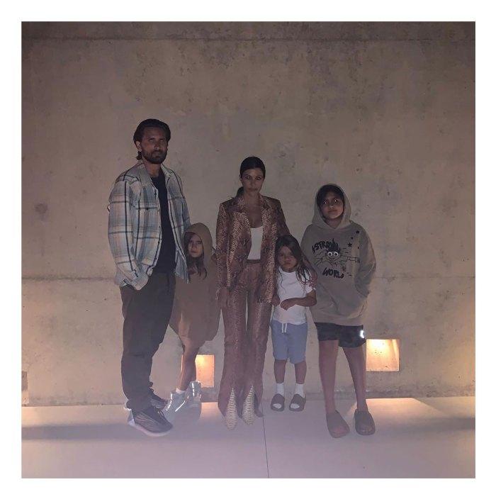 Kourtney Kardashian and Scott Disick Fathers Day Instagram