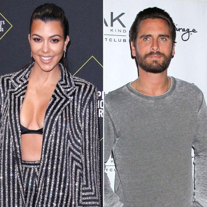 Kourtney Kardashian and Scott Disick Fathers Day
