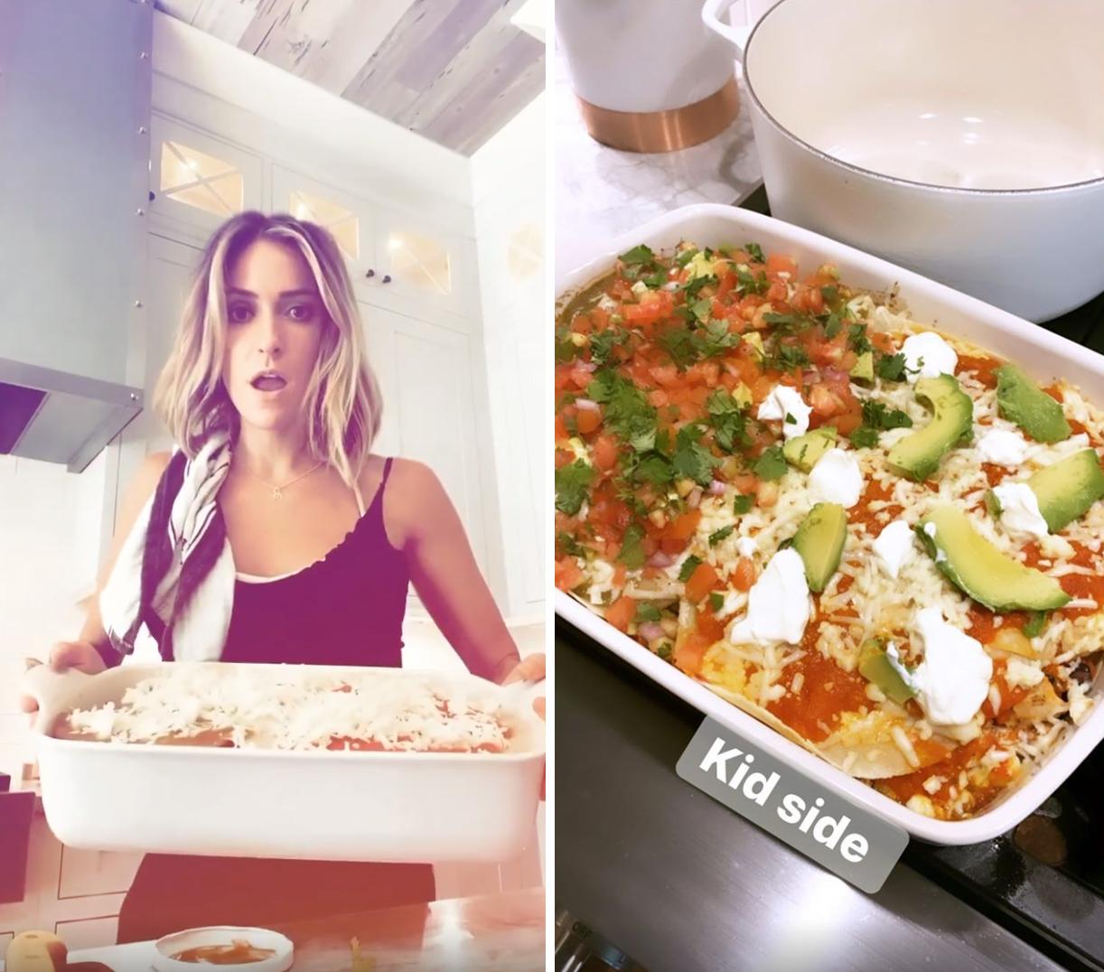 Kristin Cavallari Enchilada Casserole Has a Non-Spicy Side for Her Kids