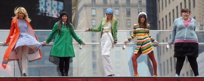 Lea Michele Breaks Her Silence After Glee Cast Accusations Dianna Agron, Jenna Ushkowitz, Heather Morris, Lea Michele, Ashley Fink