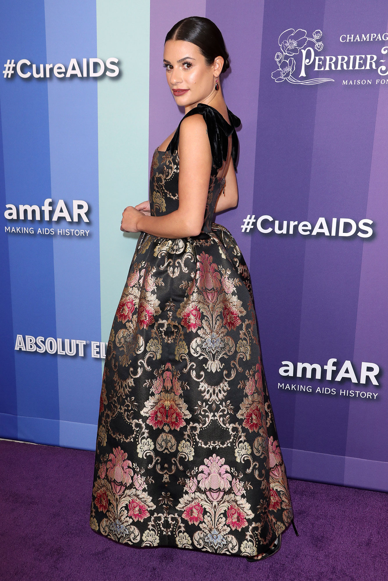Lea Michele Breaks Her Silence After Glee Cast Accusations Wearing Reem Acra
