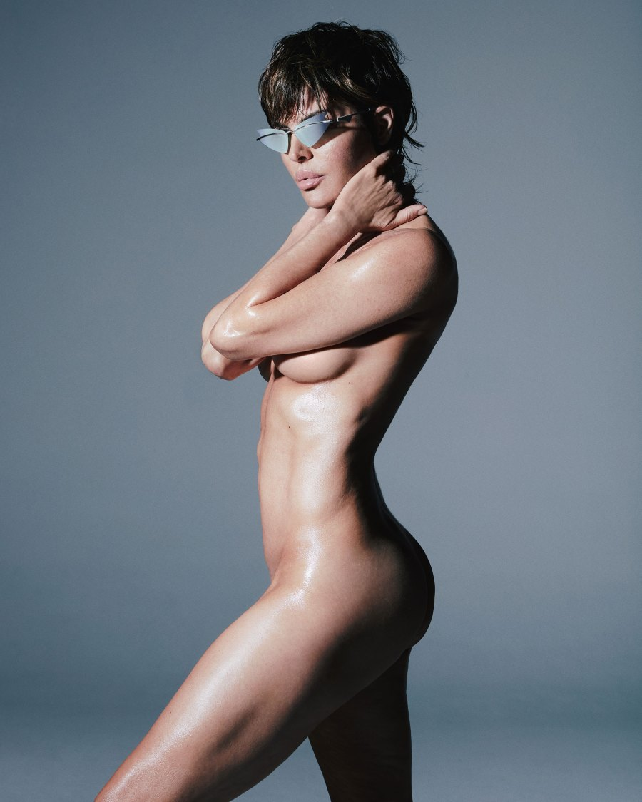 Lisa Rinna Poses Nude for Sunglass Campaign