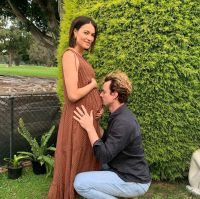 Luke Cook and Kara Wilson pregnant