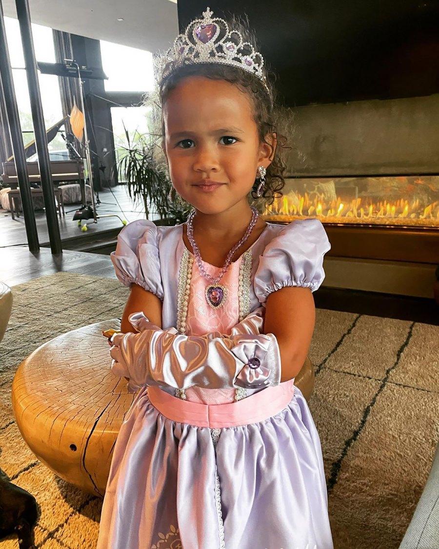 Luna Stephens Wearing Princess Dresses