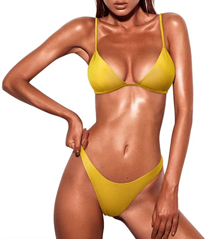 MOSHENGQI Women's Sexy Brazilian Bikini