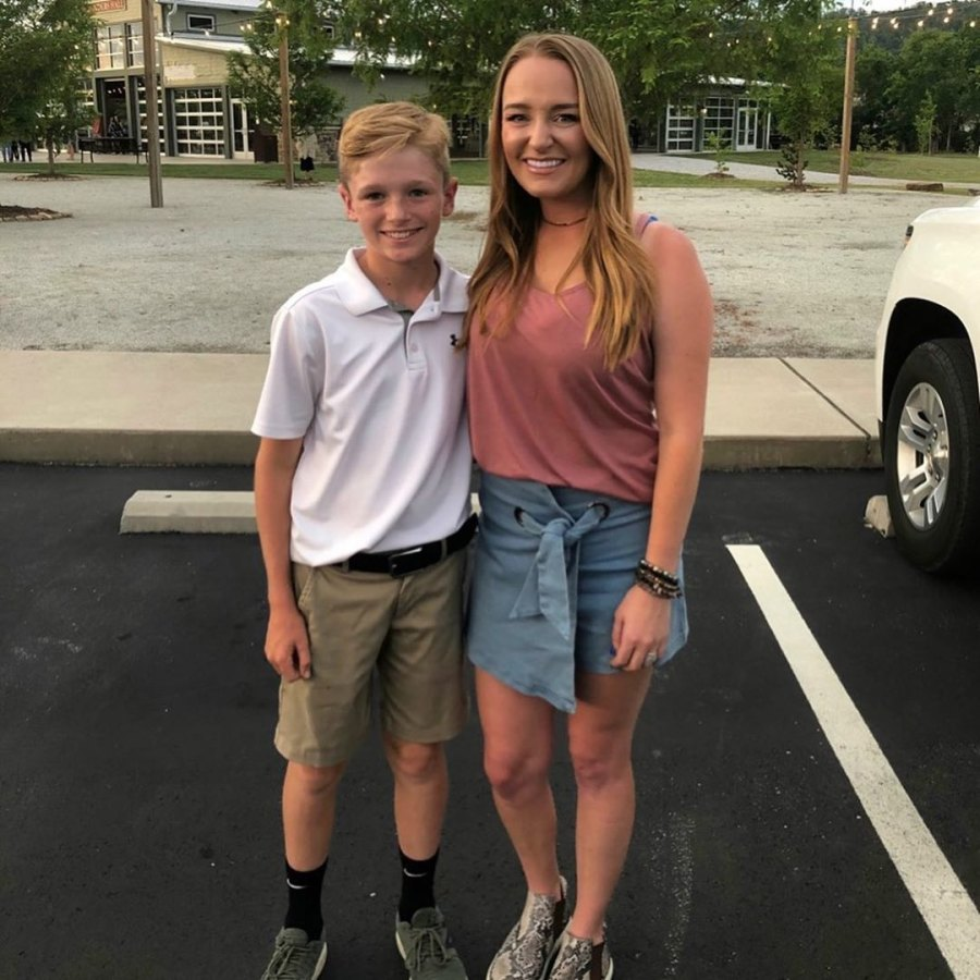 Maci Bookout Celebrates Son Bentleys 5th Grade Graduation