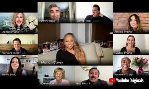 Mariah Carey Joins 'Schitt's Creek' Virtual Graduation Performance