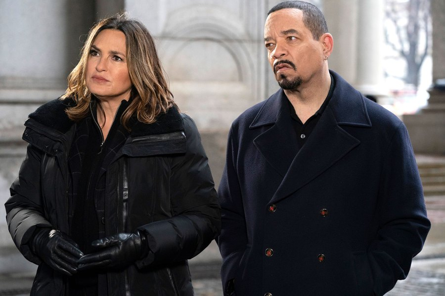 Mariska Hargitay and Ice T Law and Order Special Victims Unit SVU Black Lives Matter
