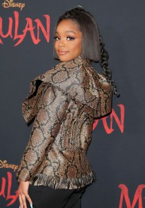 Black-ish' Star Marsai Martin Claps Back at Criticism Over Her BET Awards Look