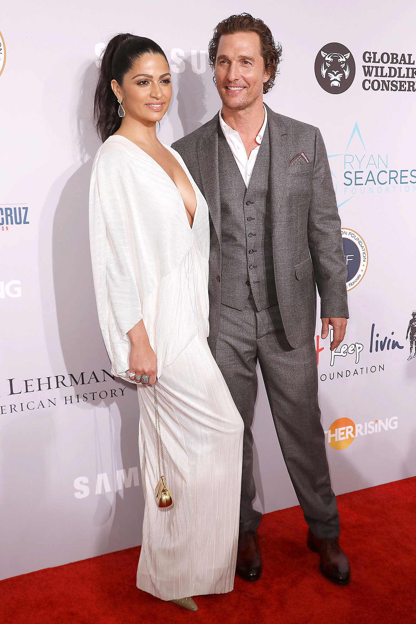 Matthew McConaughey: My Wife Camila Alves Is Tougher on Kids