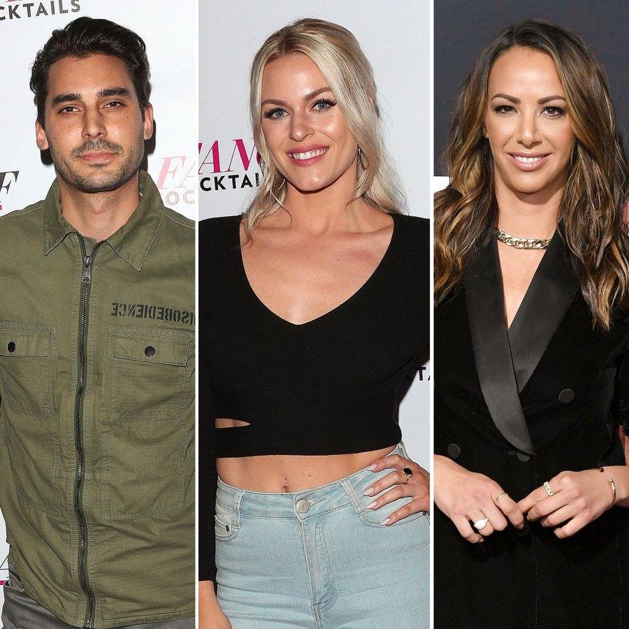 Max Status With Dayna and Kristen Max Boyens Dayna Kathan Kristen Doute Vanderpump Rules Season 8 Reunion