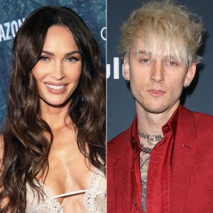 Megan Fox and Machine Gun Kelly Have Matching 'Bloody Valentine' Manicures