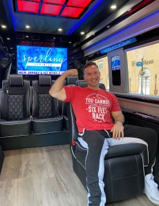 Mike 'The Situation' Sorrentino Has a Derm Appointment in His Driveway