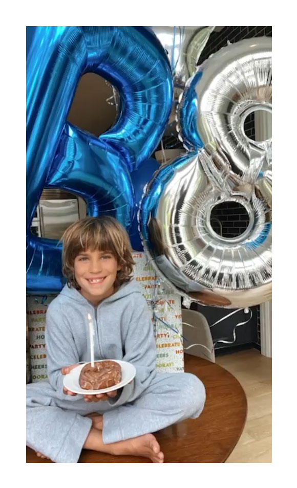 Molly Sims Quarantine Birthday