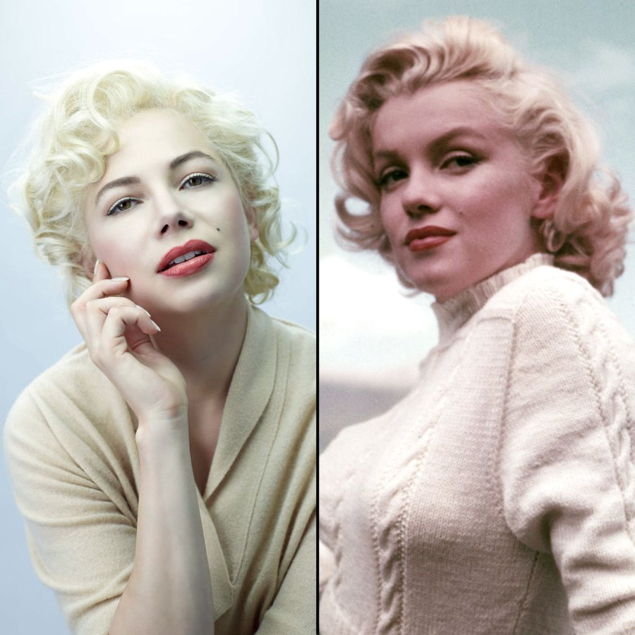 Michelle Williams My Week With Marilyn Films Based on Real Actors Lives