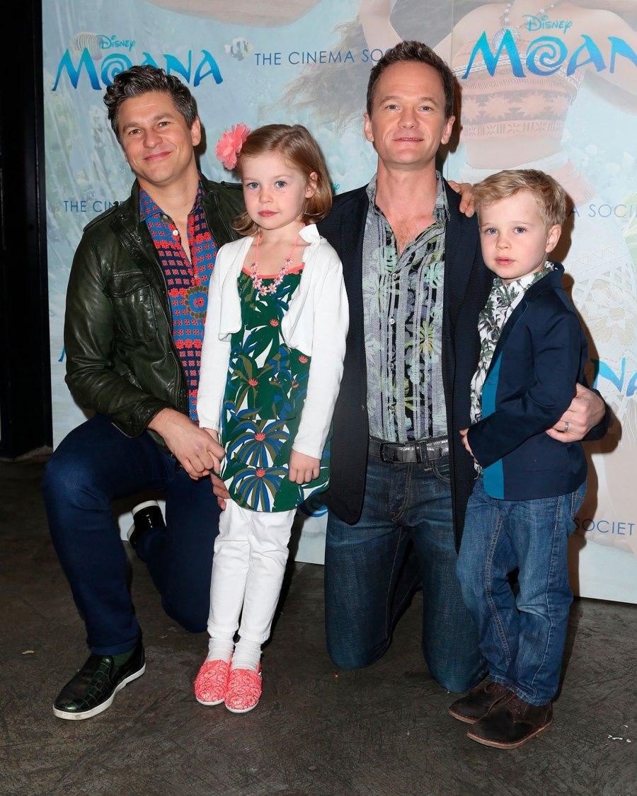 Neil Patrick Harris and David Burtka's Family Album With Twins Harper and Gideon