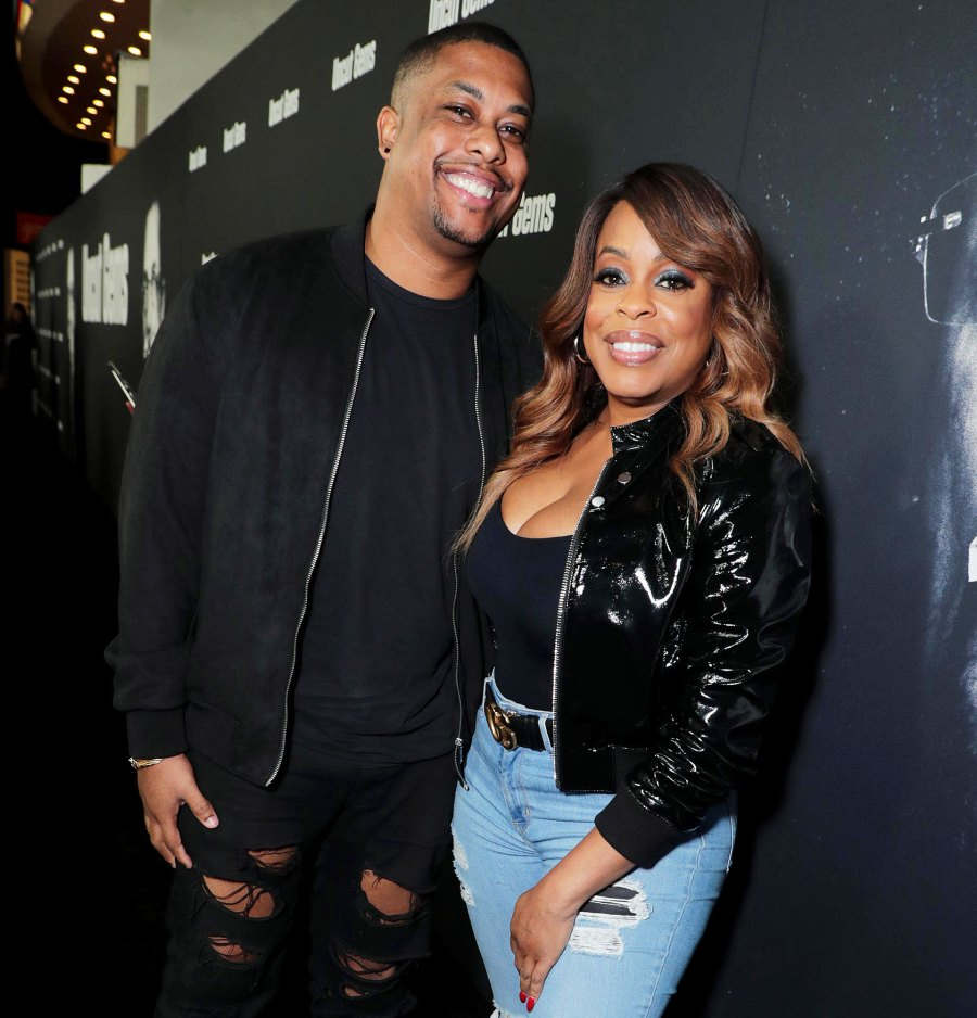Niecy Nash and son Dominic Celeb Parents Share Experiences Talking to their Kids about Police