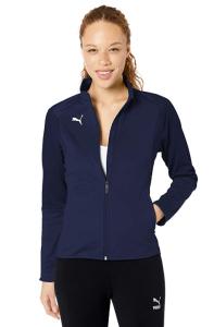 PUMA Women's LIGA Training Jacket (Peacoatpuma White)
