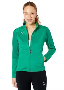 PUMA Women's LIGA Training Jacket (Pepper Greenpuma White)