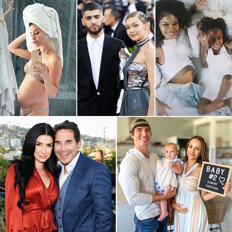 Celebrities Announcing Pregnancies During the Coronavirus Pandemic