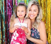 Perfect Pair Jessica Hall Daughter Sophie 5th Birthday Party