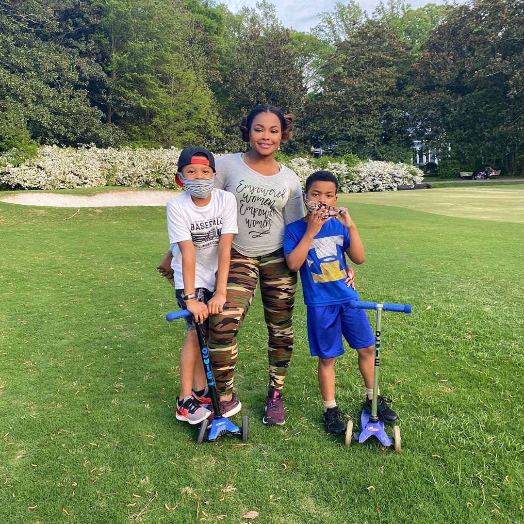 Phaedra Parks Hasn't Introduced Her 2 Kids to Boyfriend Medina Islam 2